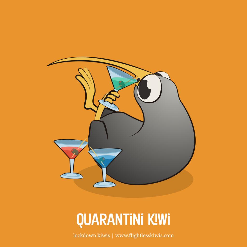 Quarantini Kiwi